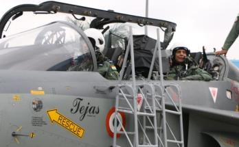 Rajnath Singh, flew in light combat aircraft, (LCA) Tejas,