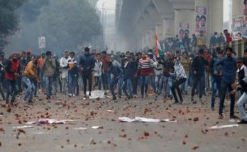 Delhi, Seelampur, Zafarabad, Violent demonstration,