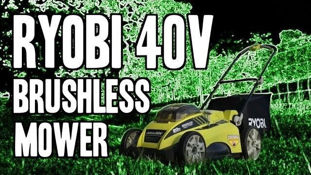 Ryobi 40v Brushless 20 Quot Mower Ry40170 Real Tool Reviews