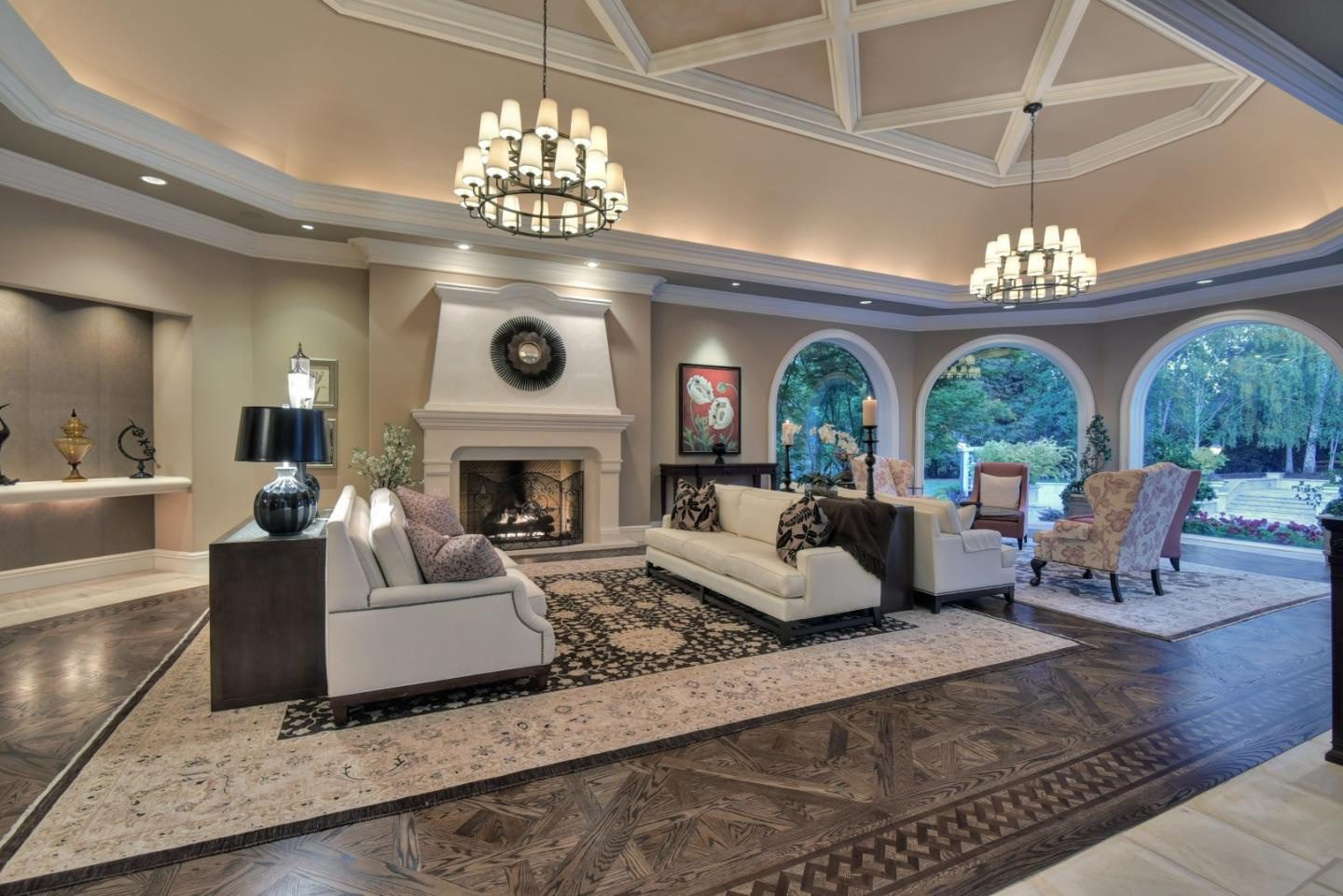 Luxury Mansion Living Room