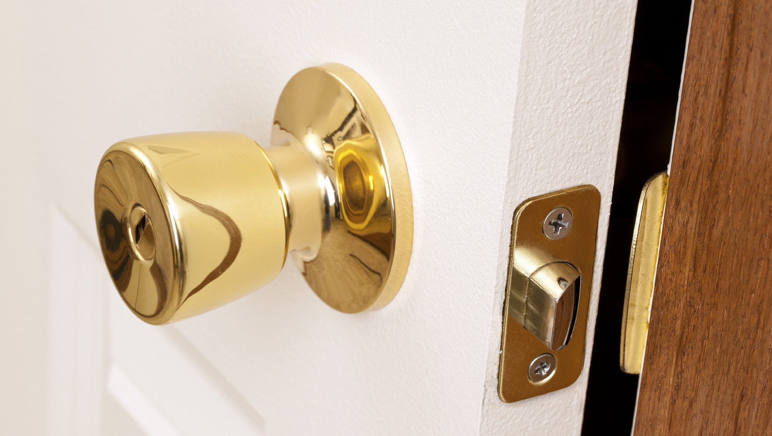 Gold doorknobs could close a lot of doors for potential buyers