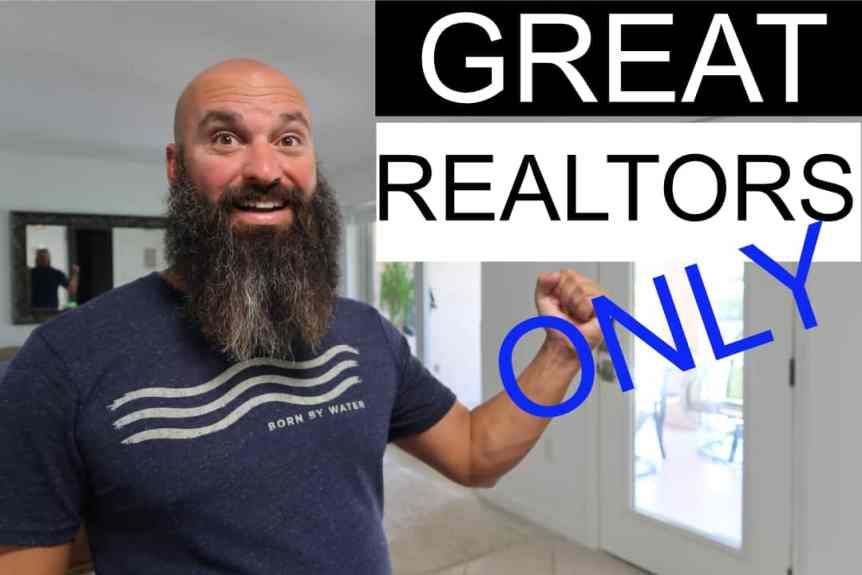 how to be a great real estate agent