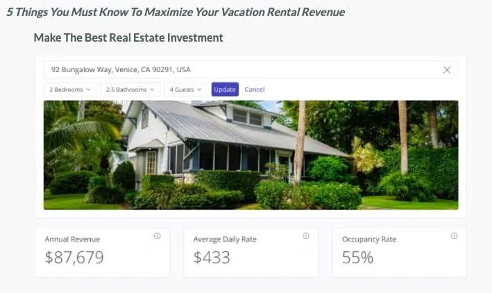 Maximize Your Vacation Rental Revenue