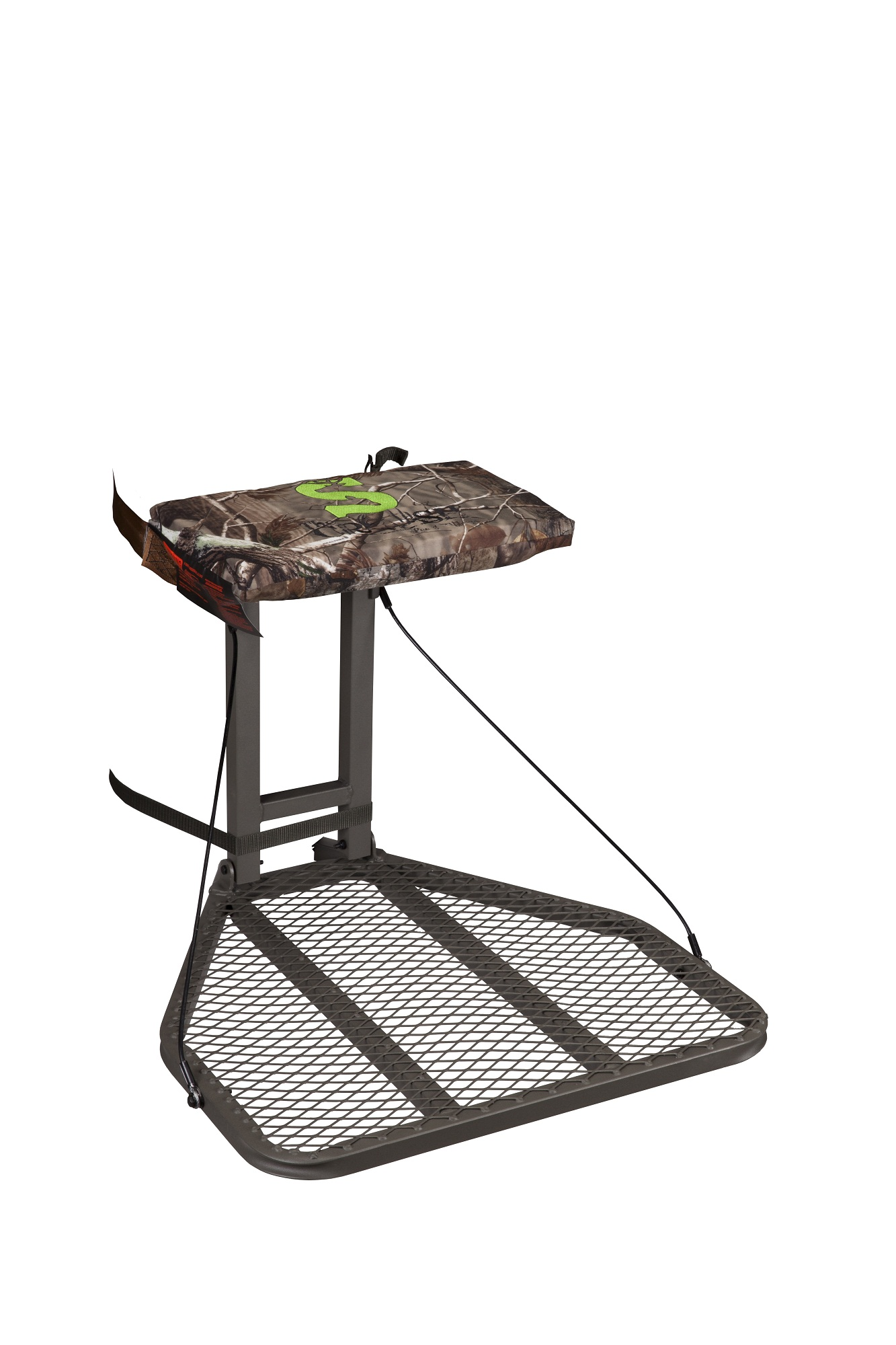 summit trophy chair review navy velvet side crush series stoop hang on treestand