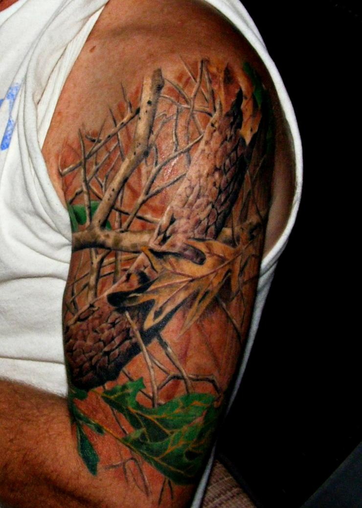 Realtree Logo Tattoo