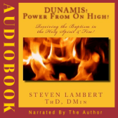 Dunamis! Power from On High Audiobook, Written and Narrated by Steven Lambert, On Audible.com!