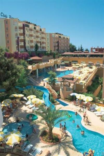Boek voordelig hotel Club Paradiso in Alanya Turkije