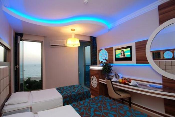 Boek voordelig hotel Grand Zaman Beach hotel in Alanya Turkije
