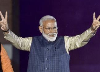 Modi 2.0. Pic Credit: India.com