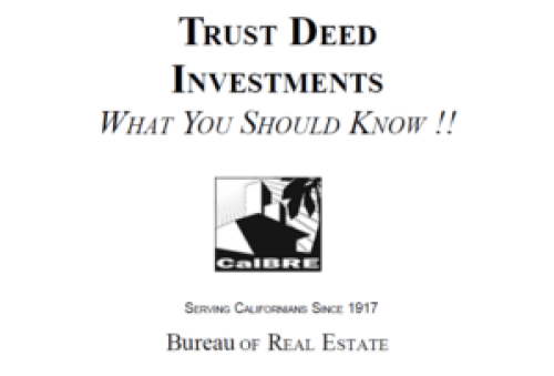 Trust Deeds Investments
