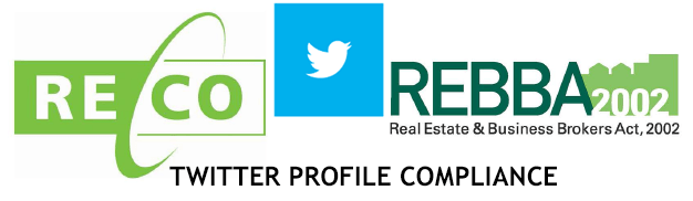 RECO REBBA 2002 Twitter Compliance Guide