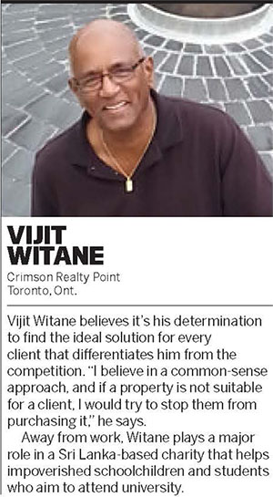 Vijit Witane, Broker of Record of Crimson Realty Point Brokerage