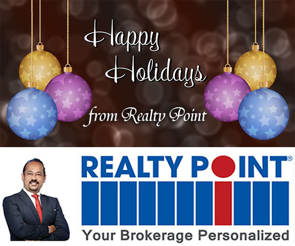 Happy Holidays from Realty Point