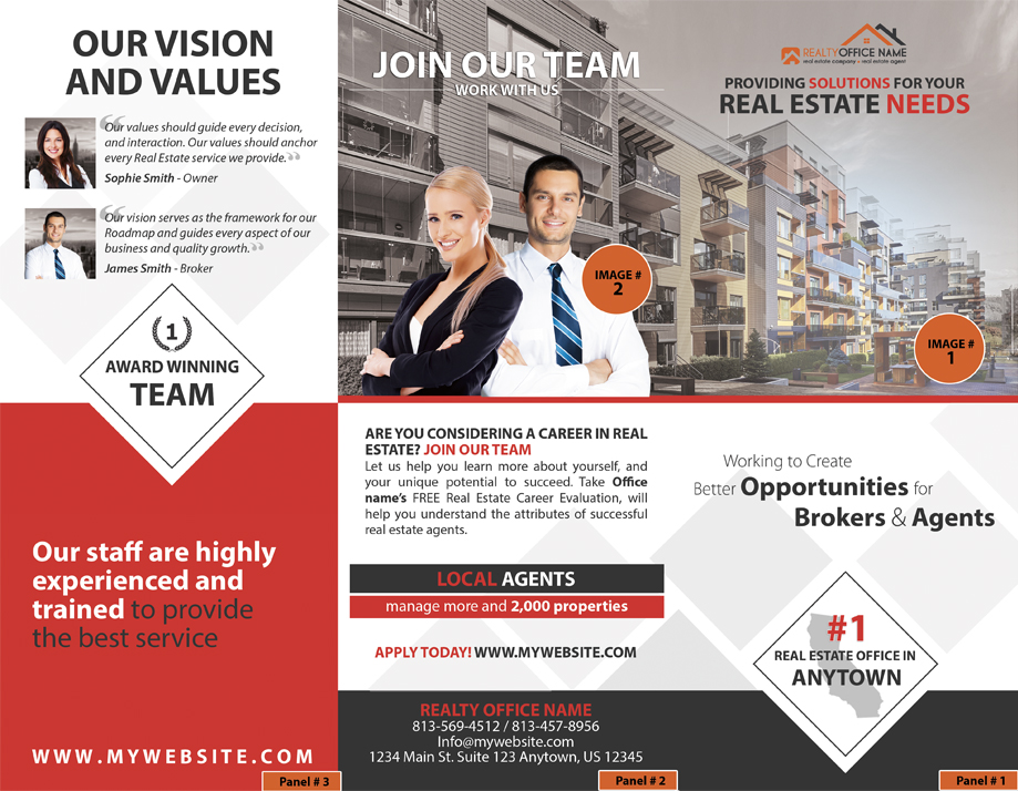Real Estate Brochure, Real Estate Marketing Brochure, Realtor ...