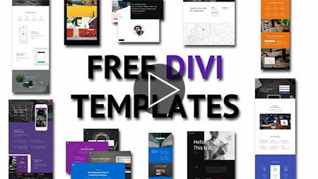Image text, Free Divi Templates