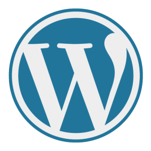 WordPress website builder software logo