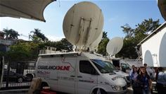 Based on Newtec Dialog, SES's OU Flex solution was integrated into Casablanca Online's existing Satellite News Gathering (SNG) trucks