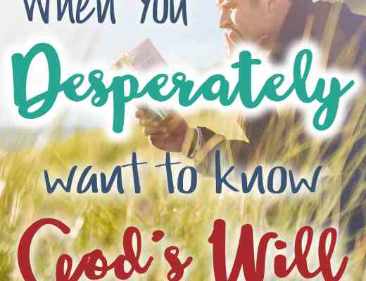 What to do when you desperately want to know God's will. Three clear answers from Scripture for our times of waiting.