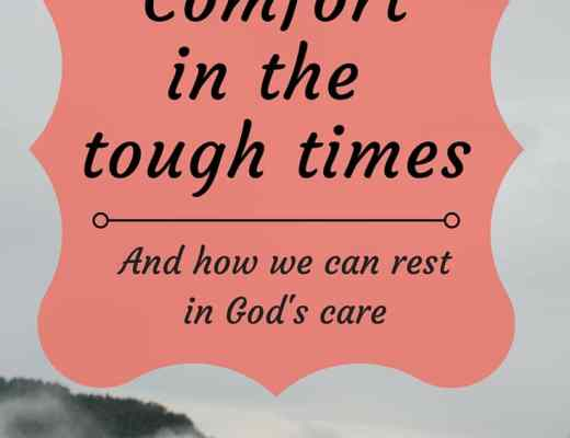 How God offers comfort in the tough times. Do you feel alone and in need of comfort? How we can rest in God's care from Deuteronomy 33; the everlasting arms