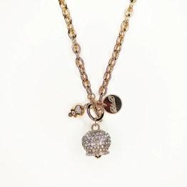 collana con campana stile capri con swarovski