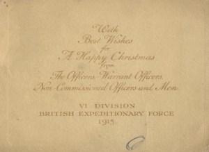 Christmas Card 1915 1
