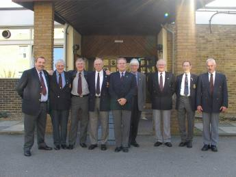 Maurice Bernard (RIP) seen here second right at the 2005 AGM