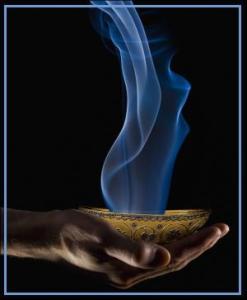 incense bowl