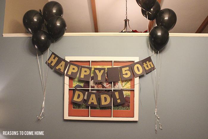 Happy 50th Birthday Dad