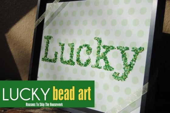 lucky word art