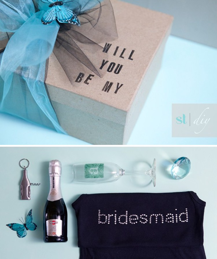 """Be My Bridesmaid"" Box of Love"