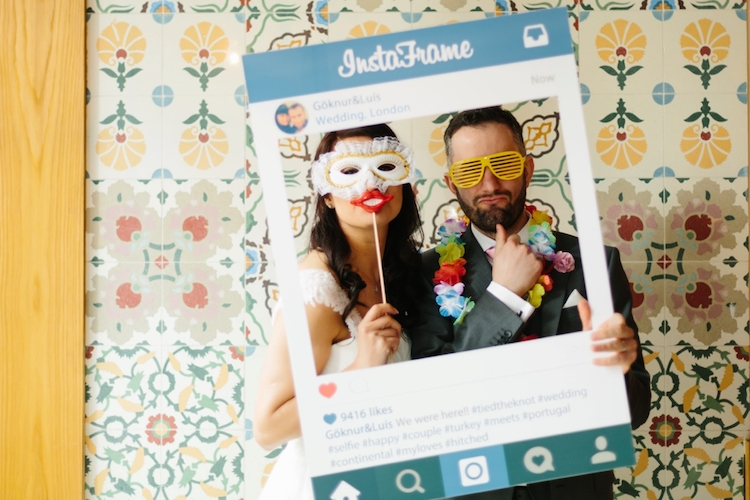 Photo booth & props