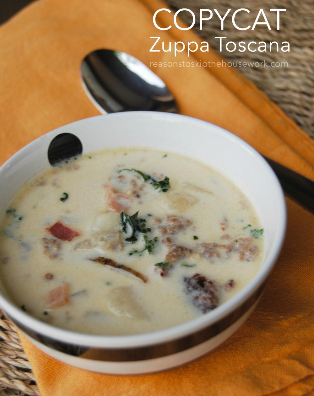 Zuppa toscana recipe olive garden copycat - Olive garden zuppa toscana copycat ...
