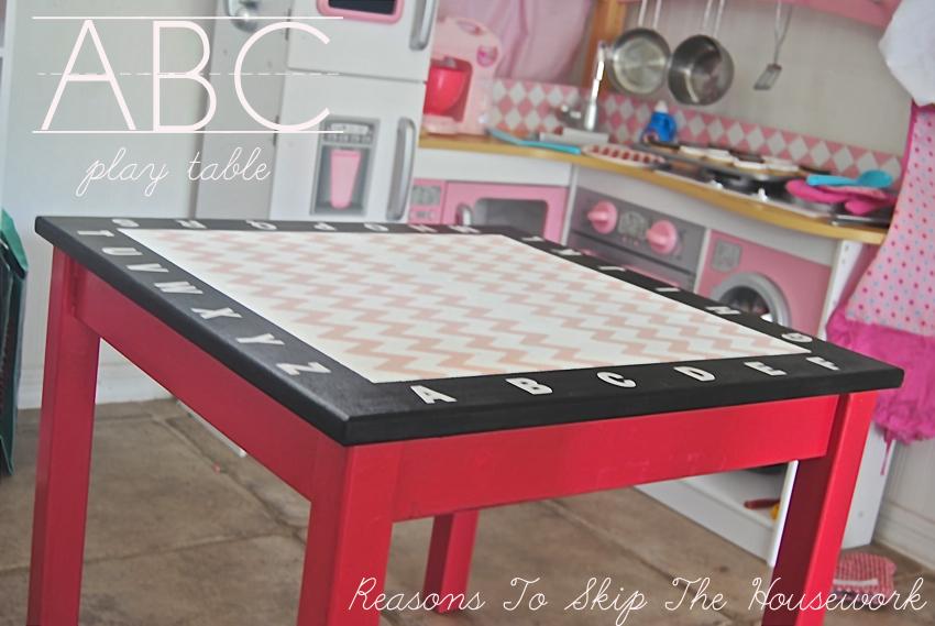 ABC Play Table