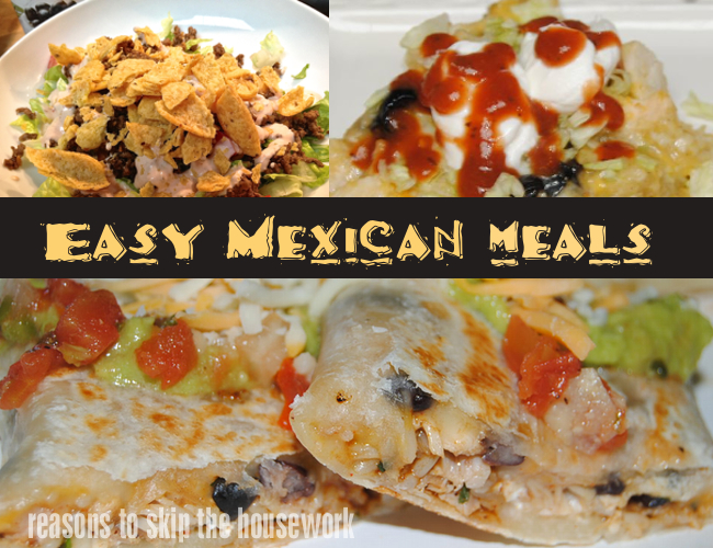 Easy mexican meals in case youre like me and you have nothing planned for cinco de mayo dinner here are three easy mexican recipes i can vouch fori make them regularly here forumfinder Images