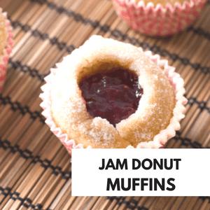 JAM DONUT MUFFINS