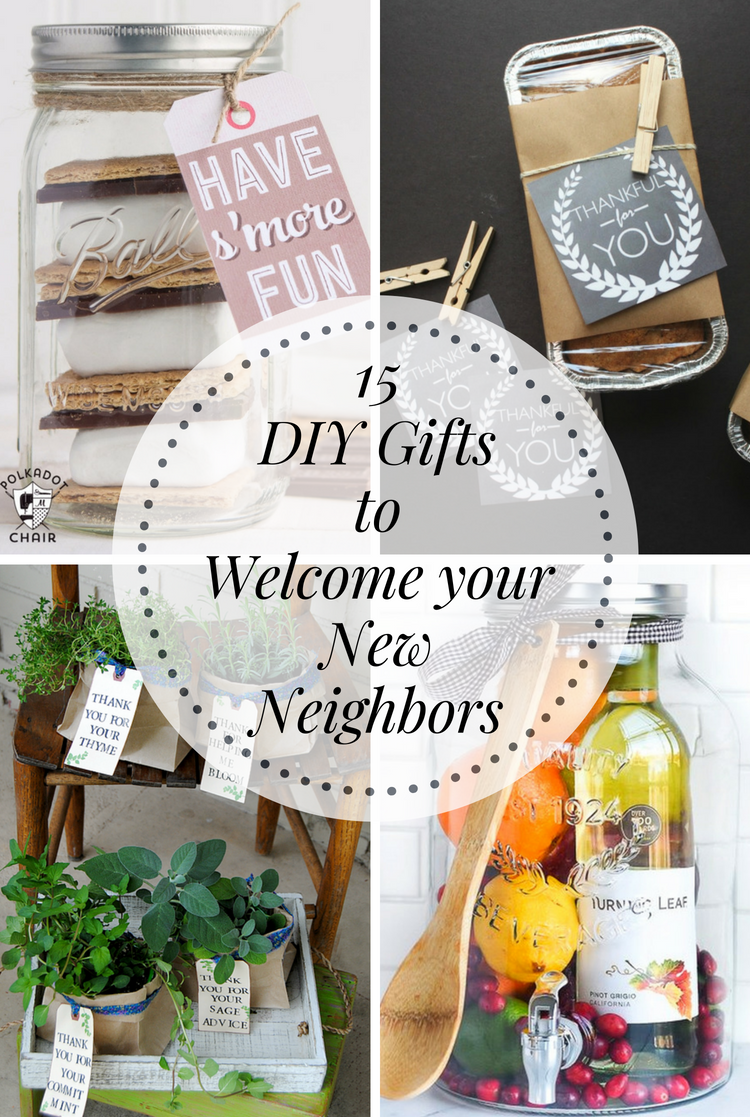 DIY Gifts to Welcome your New Neighbors