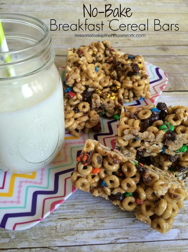 breakfast cereal bars