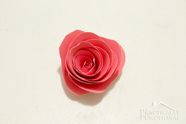 Simple Spiral Paper Flowers-8