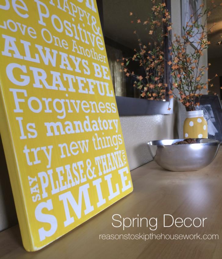 spring decor 2