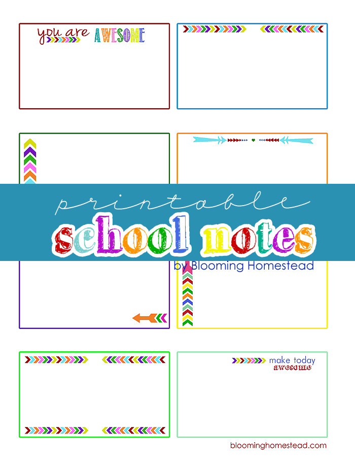 School-Notes-by-Blooming-Homestead