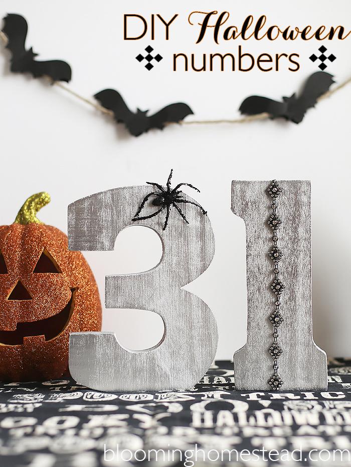 DIY Halloween Craft by Blooming Homestead