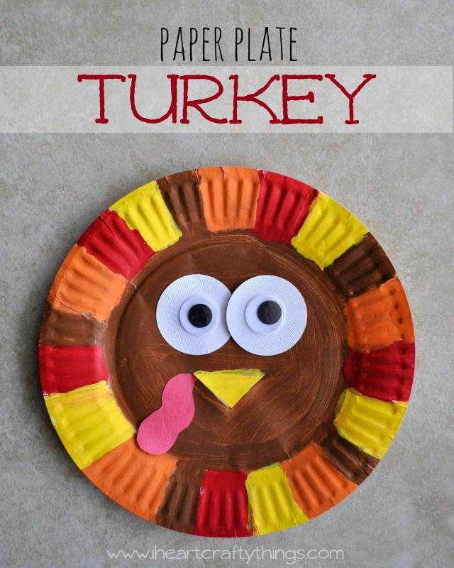 Paper Plate Turkey 2