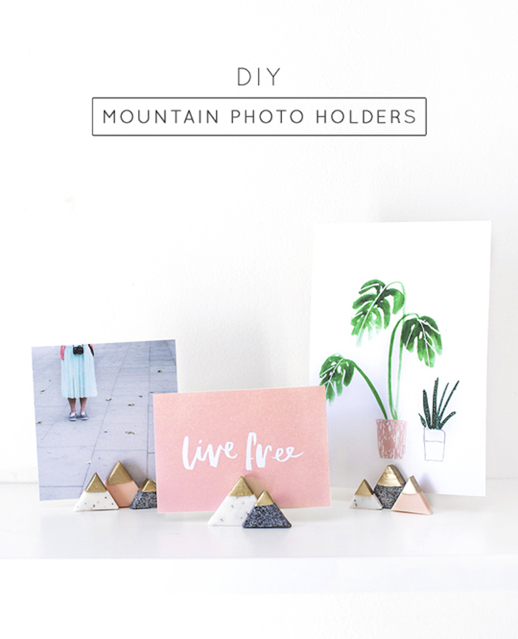 Mini Mountain Picture Holders