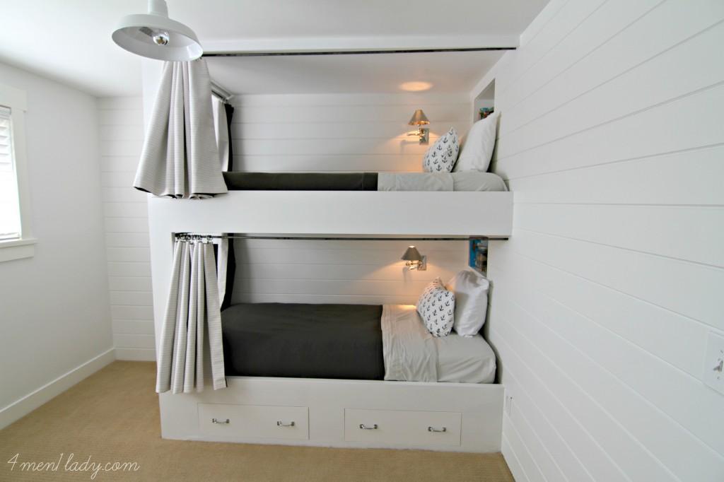 Superb guest room bunk beds