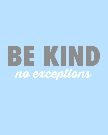 be kind blue featured