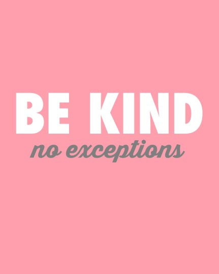 be kind pink featured