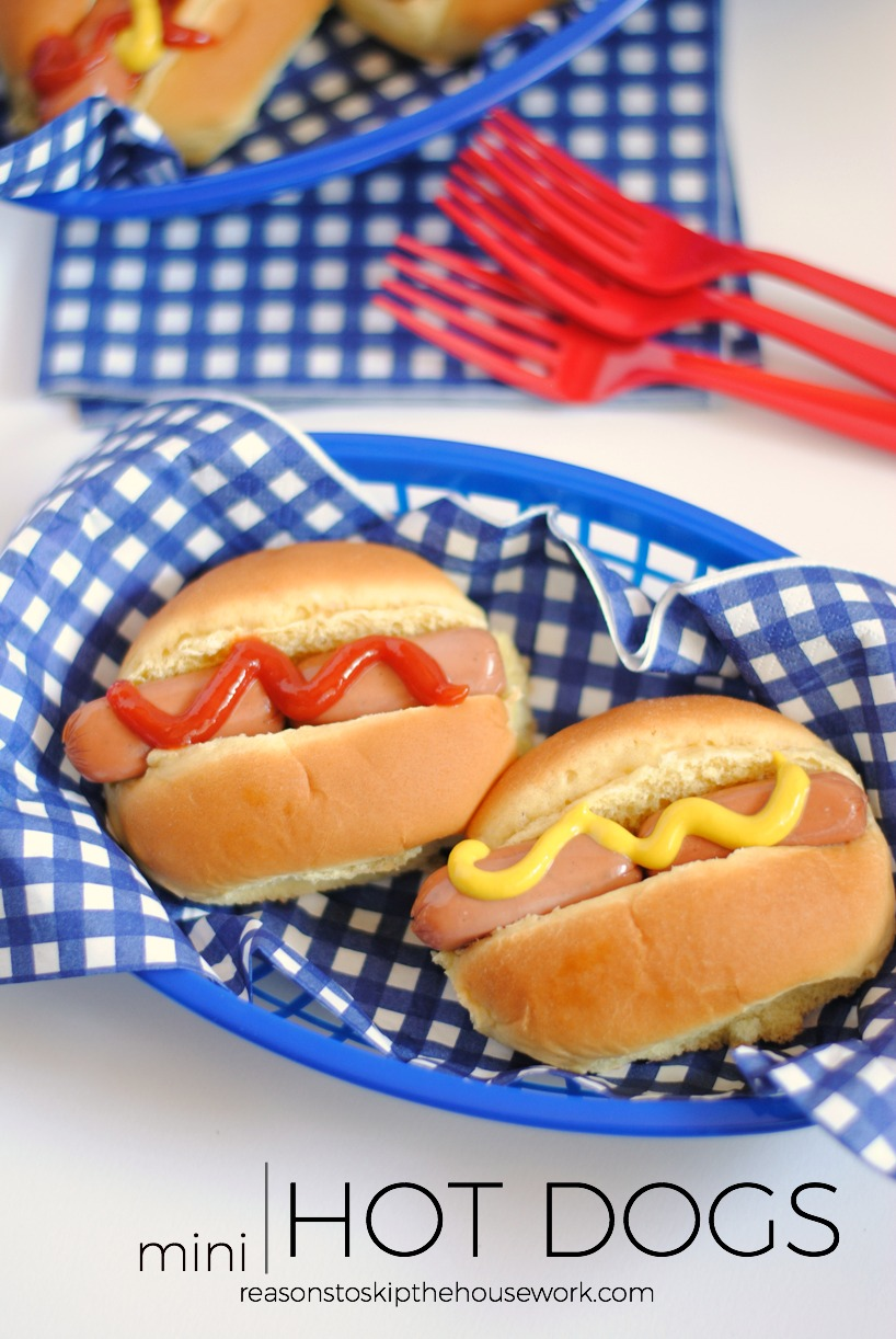 Mini Hot Dogs Reasons To Skip The Housework