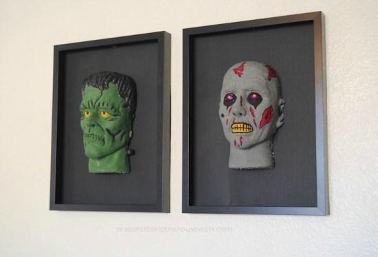 Spooky Heads
