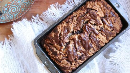 Choco Banana Bread Wide 2000
