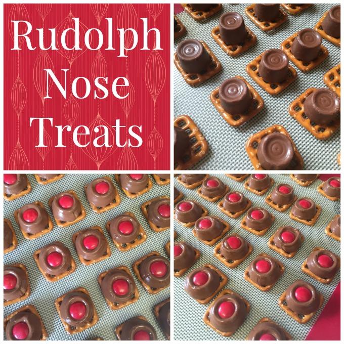 Rudolph Nose Treats